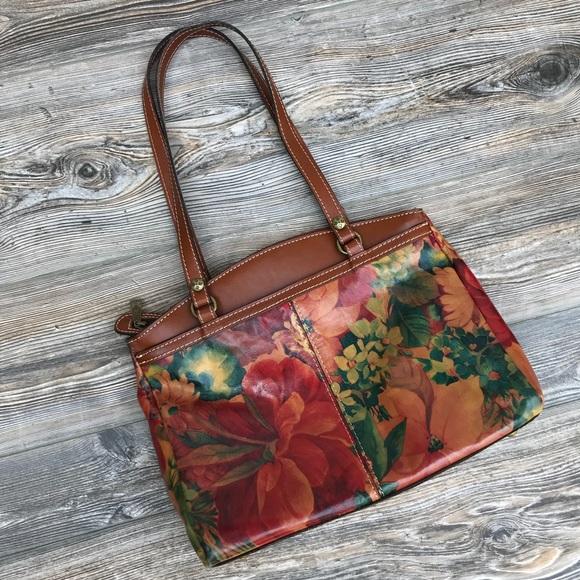 8619b21b0e PATRICIA NASH  Poppy Tote  Floral Pattern. M 5b6dcb6d0e3b865184ddee9a